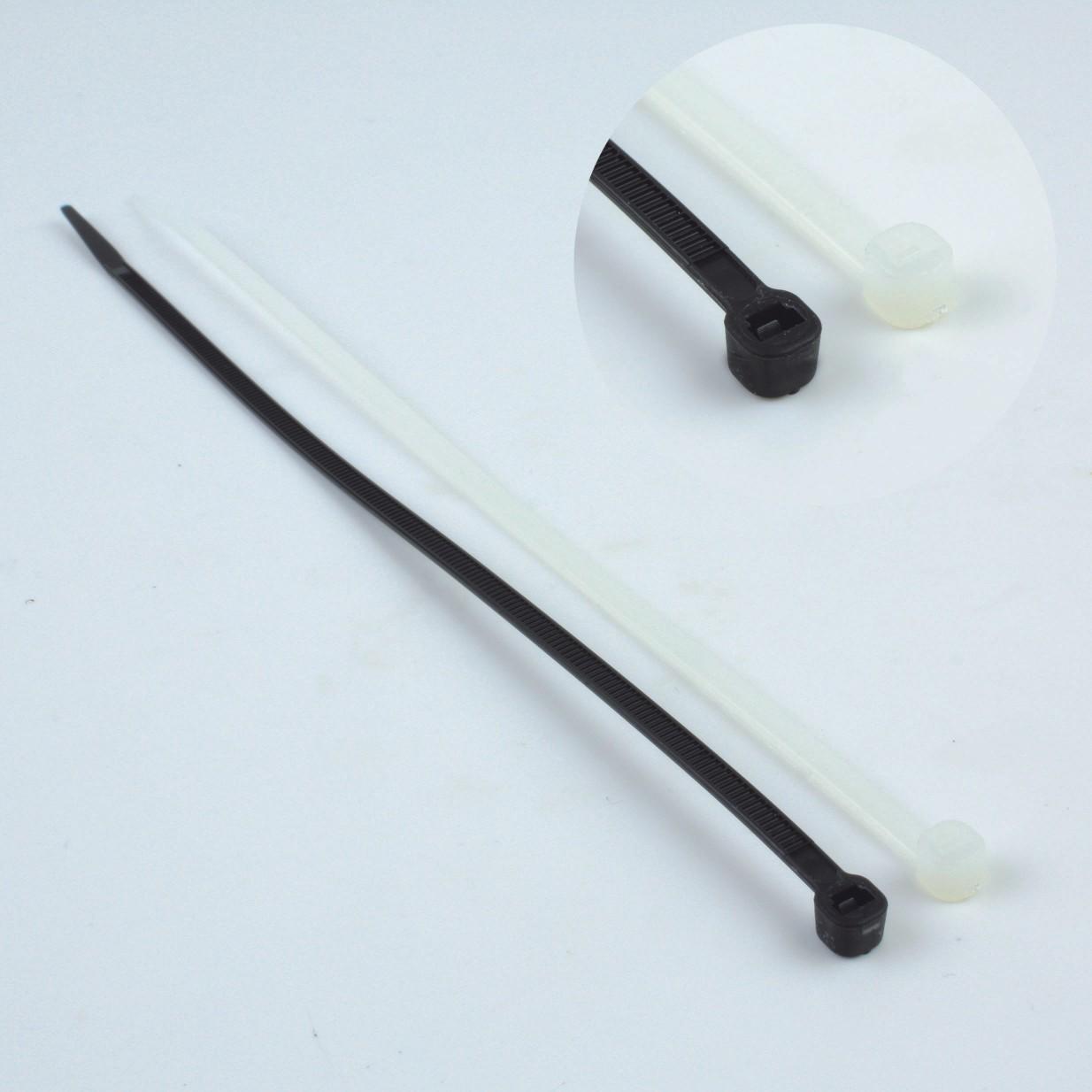 Kabelbinder PVC transparent Länge=200x3,6mm - DimA-Fachhandel